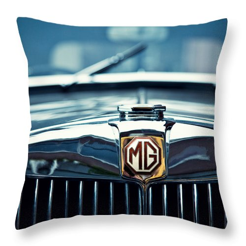 Mg Wa Throw Pillow featuring the photograph Classic Marque by Dave Bowman