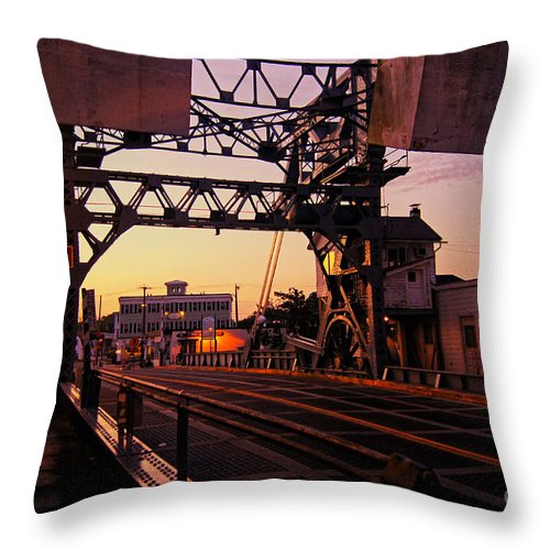 Mystic Throw Pillow featuring the photograph Classic Mystic by Joe Geraci