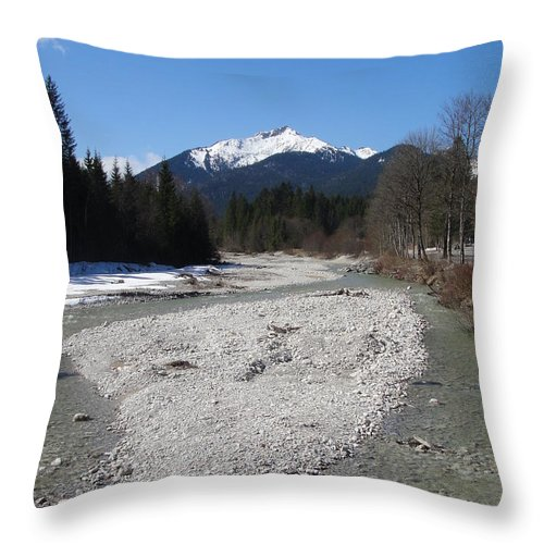 Water Throw Pillow featuring the photograph Clear Waters by Tiffany Erdman