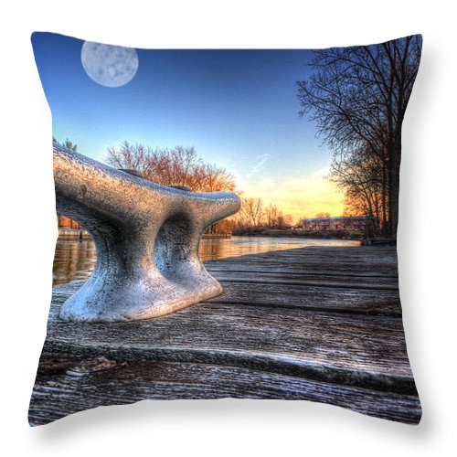 Canada Throw Pillow featuring the photograph Cleat by John Herzog