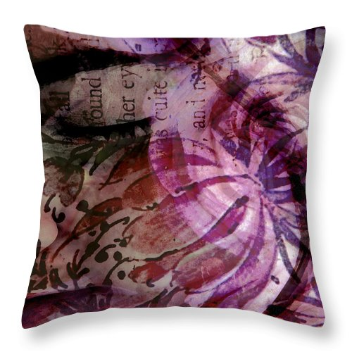 Girl Throw Pillow featuring the photograph Close Your Eyes by Angelina Vick