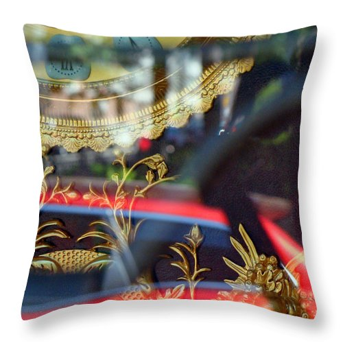 Antique Clocks Throw Pillow featuring the photograph Closed For A Time by Ira Shander