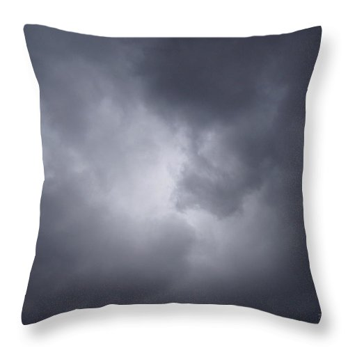 Clouds Throw Pillow featuring the photograph Cloud Energy by Deborah Crew-Johnson