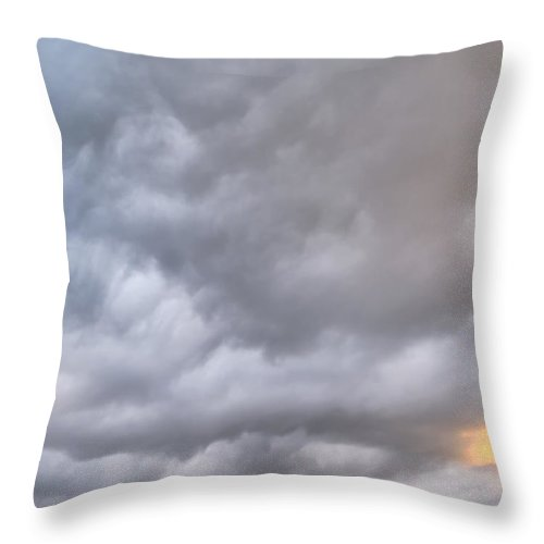 Hawaii Throw Pillow featuring the photograph Clouds 277 by Dawn Eshelman