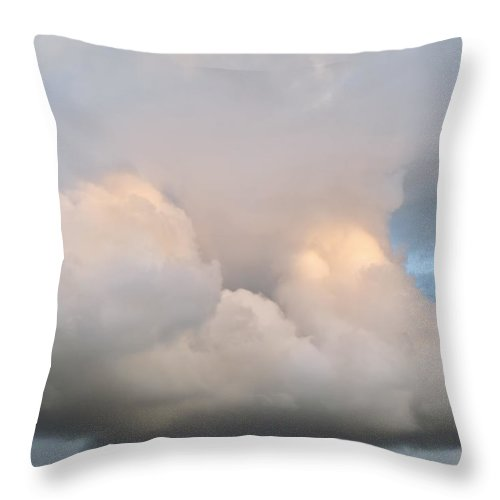 Hawaii Throw Pillow featuring the photograph Clouds 294 by Dawn Eshelman