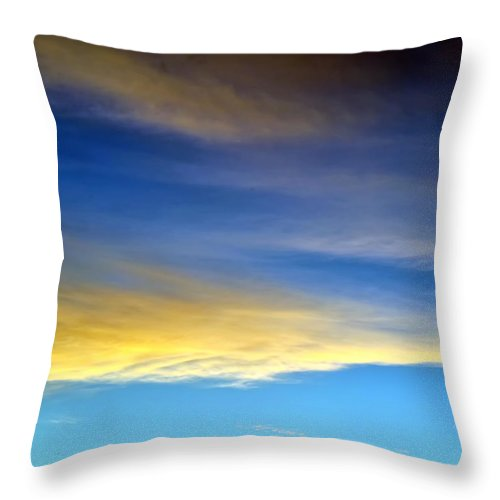 Hawaii Throw Pillow featuring the photograph Clouds 301 by Dawn Eshelman