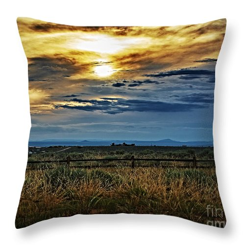 Cloud Throw Pillow featuring the photograph Cloudy Afternoon by Charles Muhle