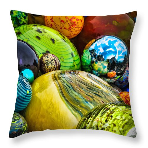 Arboretum Throw Pillow featuring the photograph Collapsed Universe by Inge Johnsson