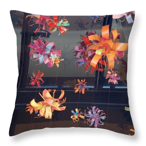 Bows Throw Pillow featuring the photograph Color Mobile by Rob Hans