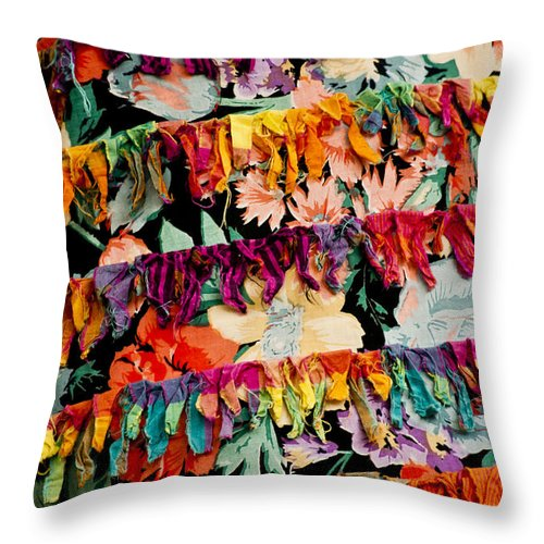Colors Throw Pillow featuring the photograph Colors 2 by Dennis Coates
