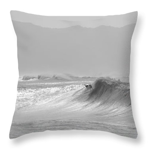 Hawaii Throw Pillow featuring the photograph Commit by Keith Harkin
