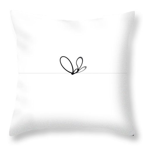 Complications In Communication Throw Pillow featuring the digital art Complications In Communication by Drazen Jerkovic