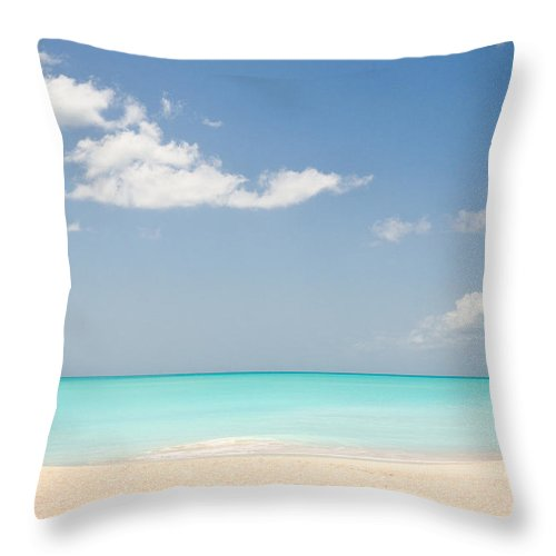 Antigua And Barbuda Throw Pillow featuring the photograph Connected by Ferry Zievinger