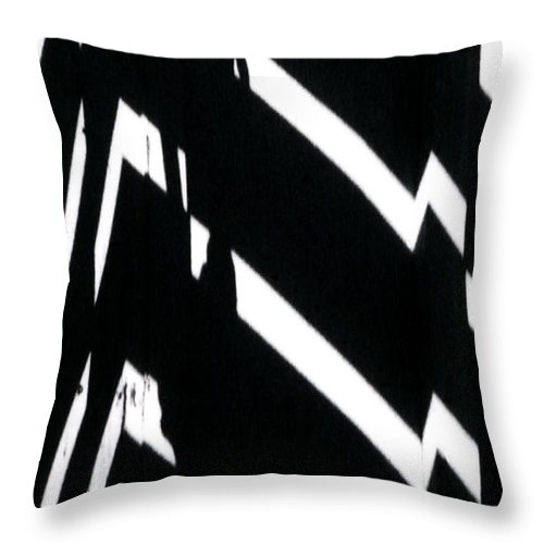 Abstract Throw Pillow featuring the photograph Continuum 4 by Steven Huszar