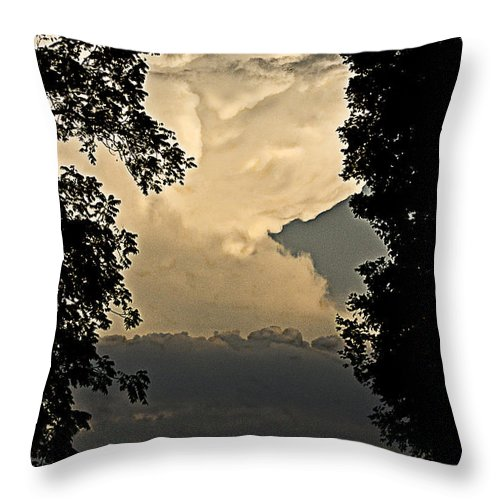 Cotton Candy Throw Pillow featuring the photograph Cotton Candy Bounce by Cris Hayes