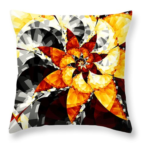 Sun Throw Pillow featuring the digital art Createve Theological IIi by Brian Haythorn