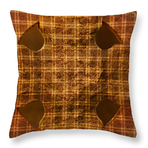 Photography By Floyd Menezes Throw Pillow featuring the photograph Criss-cross by Floyd Menezes