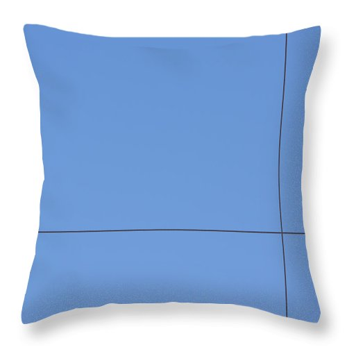 Richard Reeve Throw Pillow featuring the photograph Crossed Wires by Richard Reeve
