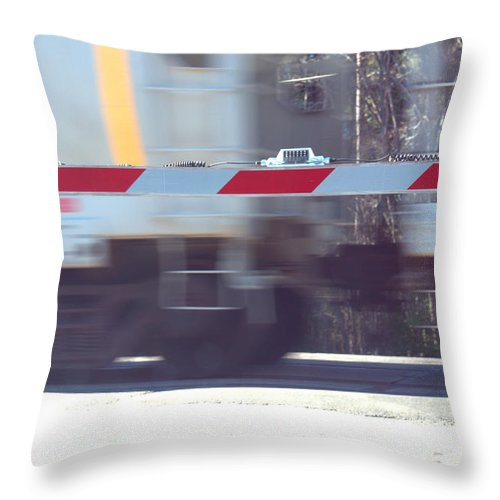 Crossing Throw Pillow featuring the photograph Crossing by Darrell Clakley