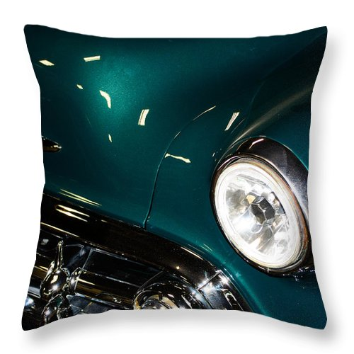 Auto Throw Pillow featuring the photograph Cruzin Chevy by Tikvah's Hope