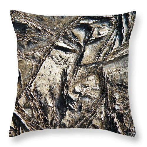 Crystal Throw Pillow featuring the photograph Crystal Muck by Brian Boyle
