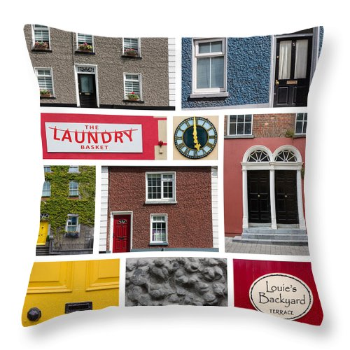 Art Throw Pillow featuring the photograph Cultural Kilkenny by Semmick Photo
