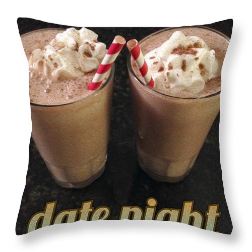 Malts Throw Pillow featuring the photograph Date Night by Tim Nyberg