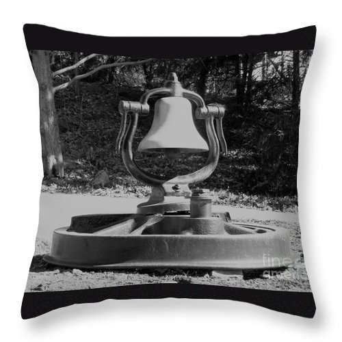 Train Throw Pillow featuring the photograph Days Gone By by Sara Raber