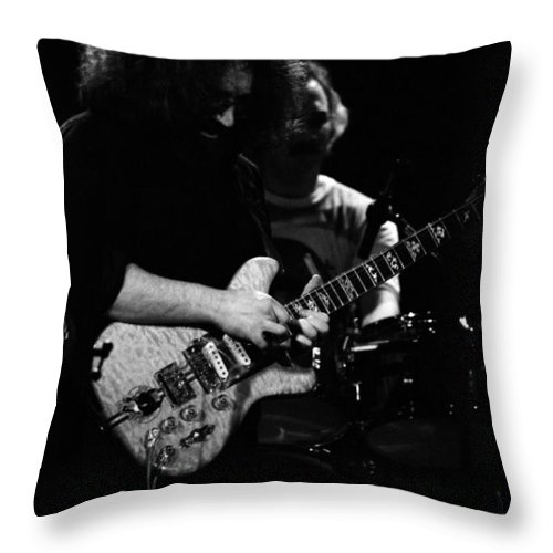 Grateful Dead Throw Pillow featuring the photograph Dead #11 by Ben Upham