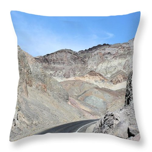 Throw Pillow featuring the photograph Death Valley # 9 by G Berry