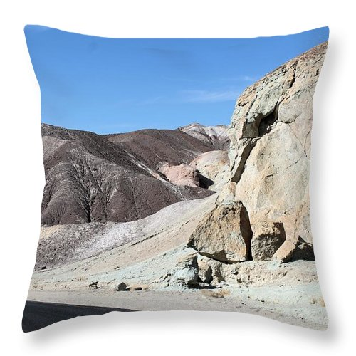 Throw Pillow featuring the photograph Death Valley #7 by G Berry