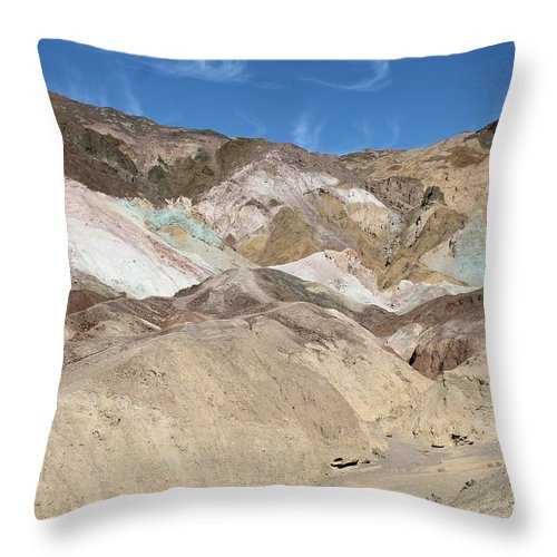 Throw Pillow featuring the photograph Death Valley Rock #2 by G Berry