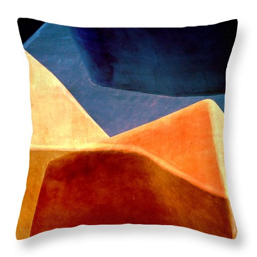 Sand Dunes Throw Pillow featuring the photograph Desert Dunes Number 2 by Carol Leigh