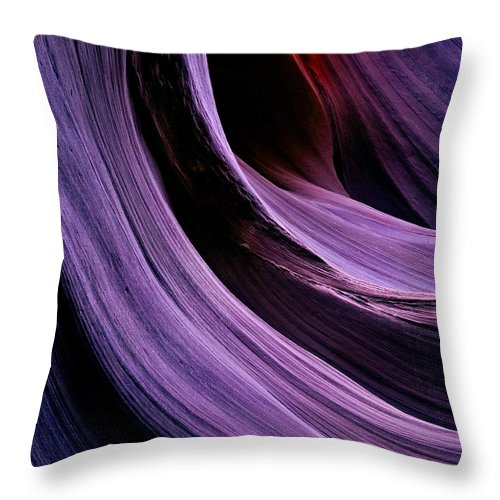 Desert Throw Pillow featuring the photograph Desert Eclipse by Mike Dawson