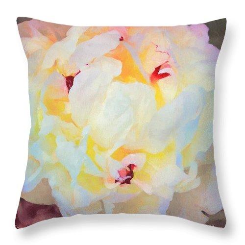 Christian Throw Pillow featuring the digital art Deuteronomy 7 9 by Michelle Greene Wheeler