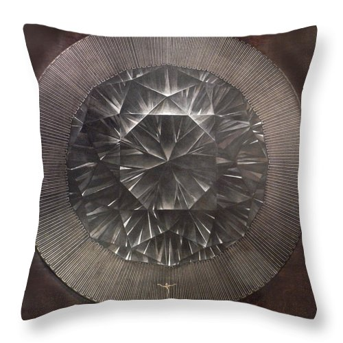 Throw Pillow featuring the painting . by James Lanigan Thompson MFA