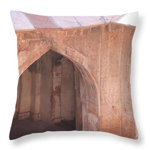 Palace Throw Pillow featuring the photograph Different Angles Part 2 by Four Hands Art