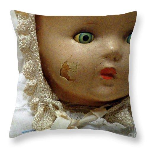 Still Life Throw Pillow featuring the photograph Dilemma by Lauren Leigh Hunter Fine Art Photography