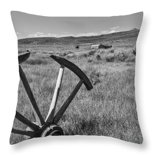 Horizontal Throw Pillow featuring the photograph Discarded by Jon Glaser