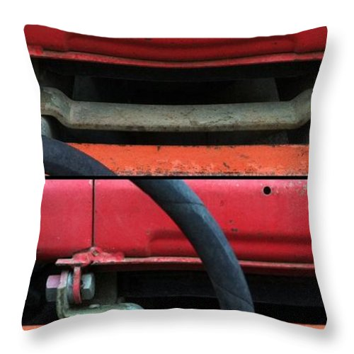 Diptych Throw Pillow featuring the photograph Disconnect by Marlene Burns