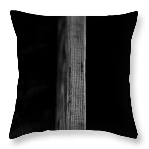 Abstract Throw Pillow featuring the photograph Dividing by Sean O'Cairde