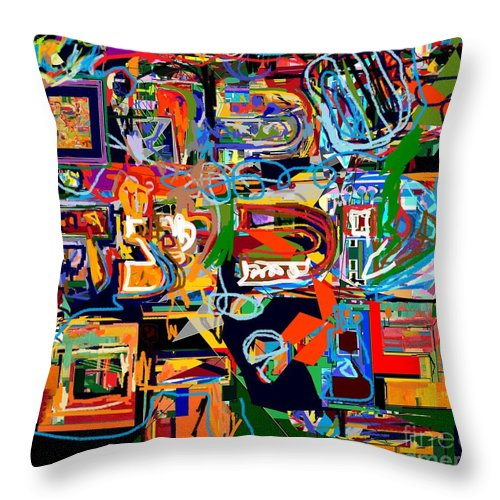 Torah Throw Pillow featuring the photograph Divinely Blessed Marital Harmony 27 by David Baruch Wolk