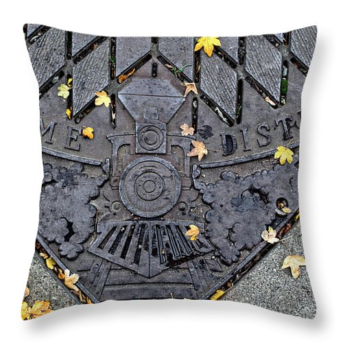 Dome District Throw Pillow featuring the photograph Dome District by Tikvah's Hope