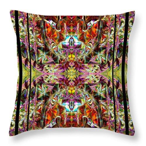Yoga Throw Pillow featuring the photograph Doorways Thru Sacred Bridge by Deprise Brescia