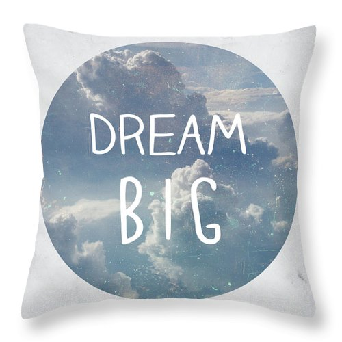 Dream Throw Pillow featuring the photograph Dream Big by Pati Photography
