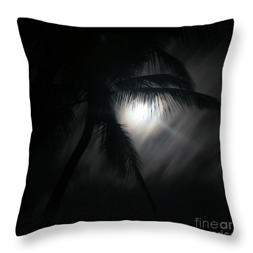 Dreams Of Mortal Bliss Throw Pillow featuring the photograph Dreams Of Mortal Bliss by Sharon Mau