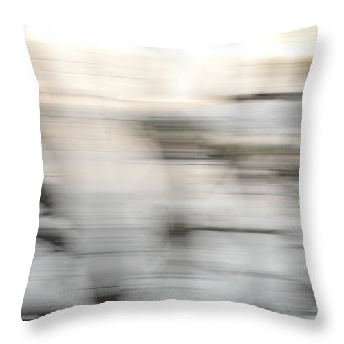 Quita Jean Throw Pillow featuring the photograph Drive By by Quita Jean