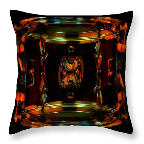 Drums Photographs Throw Pillow featuring the photograph Drum by Deena Athans