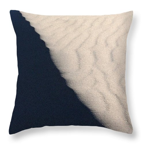 Dune Throw Pillow featuring the photograph Dune by Allan Lovell