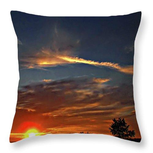 Sauble Beach Throw Pillow featuring the photograph Dune Dreaming by Steve Harrington